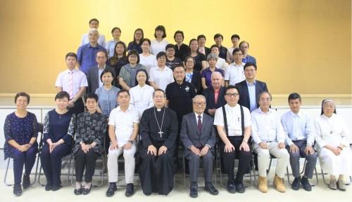 天主教澳門教區委任新一屆教區學校校董會成員及舉行培訓日暨委任儀式