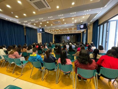天主教澳門教區直屬學校「教師知法守法」專題講座