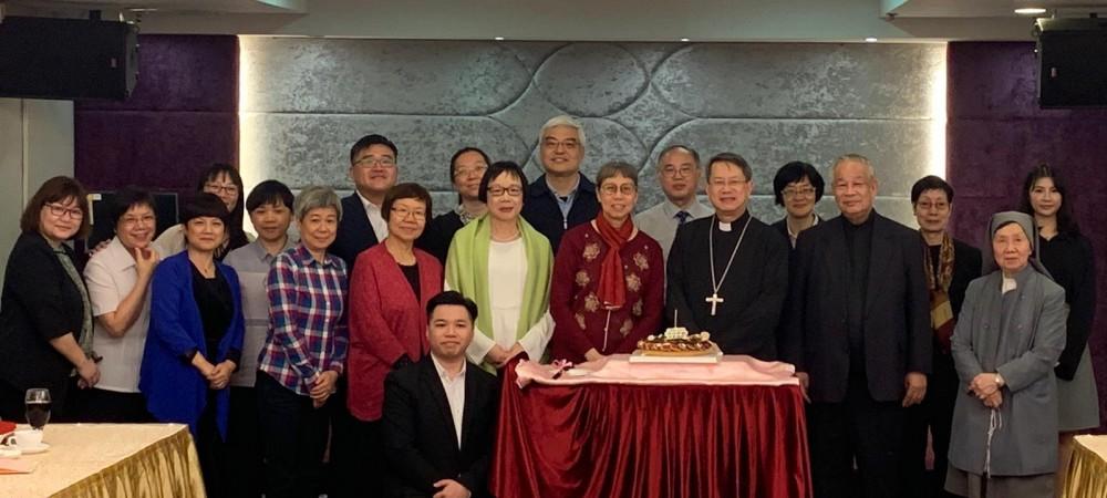教區天主教教育委員會於本年五月正式換屆