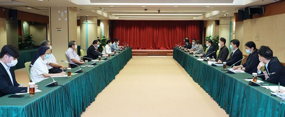 教青局與教育界代表持續商討餘下教育階段的復課預案